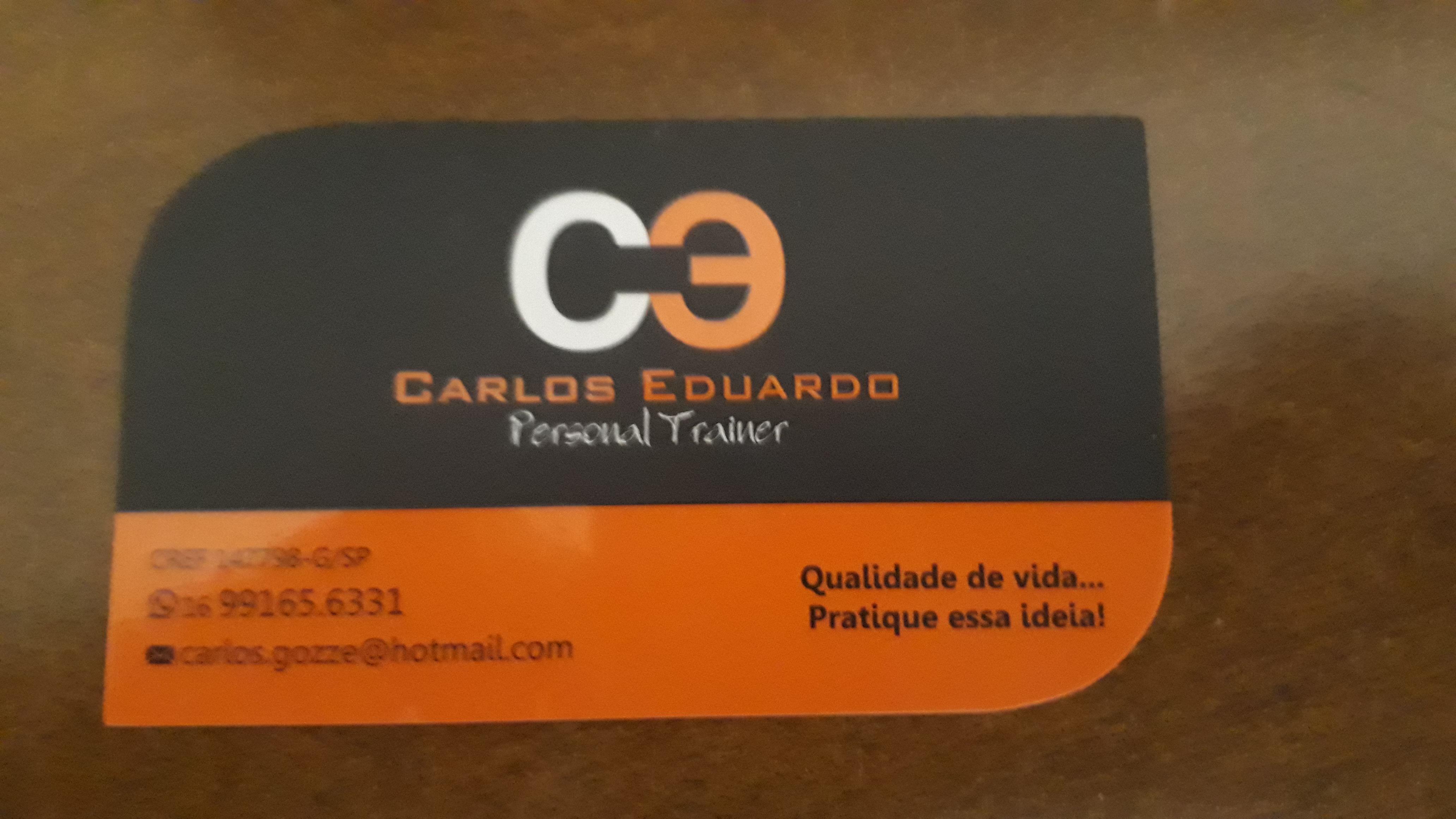 Personal Trainer Carlos Eduardo Gozze Junior